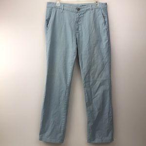 Adriano Goldschmied Mens Blue Khaki Pants Size 32